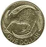 новозеландский доллар 1a
