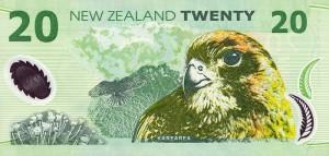 новозеландский доллар 20р