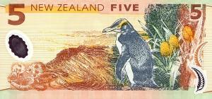 новозеландский доллар 5р