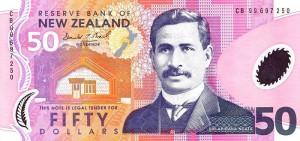 новозеландский доллар 50а