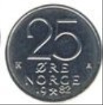 норвежское эре 25а