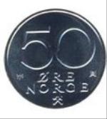 норвежское эре 50а