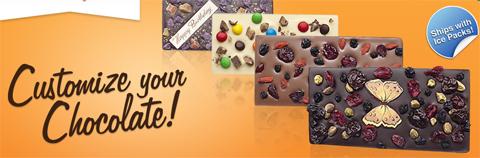 персонализованный шоколад