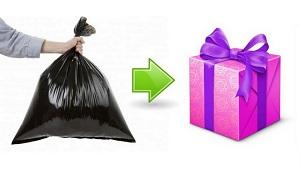 подарки из мусора