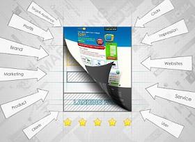 Дизайны посадочных страниц