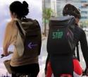 Рюкзак с LED указателями для велосипедистов