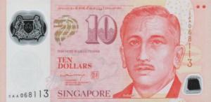 сингапурский доллар 10а