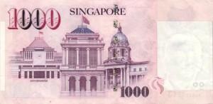 сингапурский доллар 1000p
