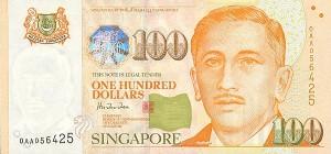сингапурский доллар 100a