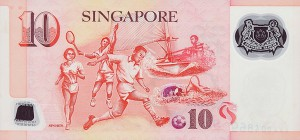 сингапурский доллар 10p