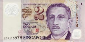 сингапурский доллар 2а