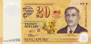 сингапурский доллар 20а