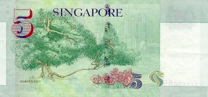 сингапурский доллар 5p