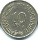 сингапурский цент 10a