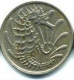 сингапурский цент 10p