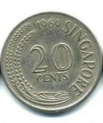 сингапурский цент 20a