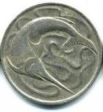 сингапурский цент 20p