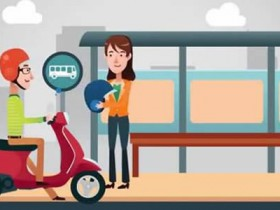 Скутер - удобное средство передвижения по городу