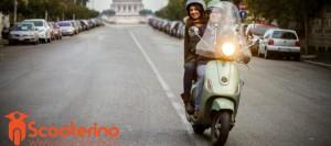 Поездка на скутере со случайным водителем - это удобно и выгодно