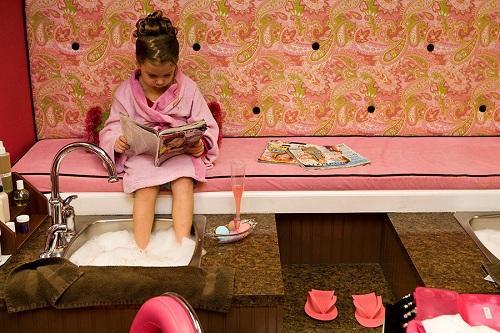 спа салон для детей