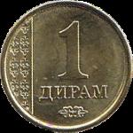 таджикский диарам 1а