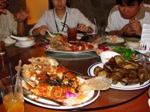 Дегустация блюд тайской кухни