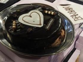 Торт с рисунком 3D