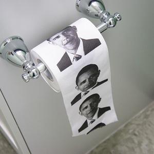 туалетная бумага обама