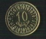 тунисские миллимы 10а