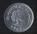 тунисские миллимы 2р