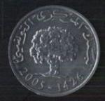 тунисские миллимы 5р