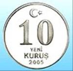 турецкий куруш 10а