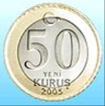 турецкий куруш 50а