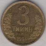 узбекский тийин 3а