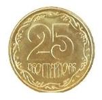 украинская копейка 25a