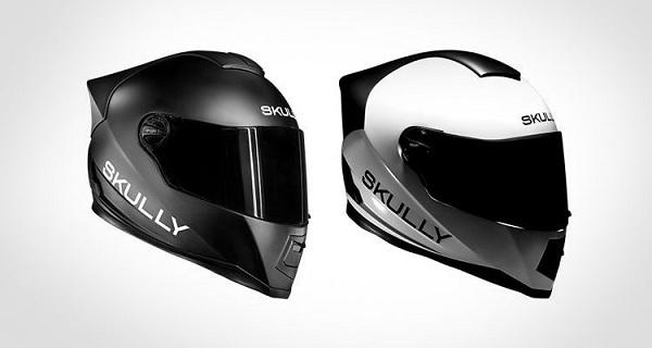 умный шлем skully