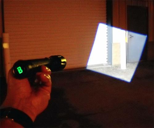уникальный фонарик