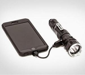 фонарик с зарядкой