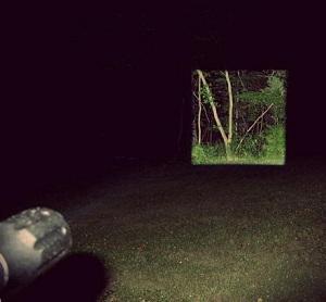 фонарик с квадратным освещением