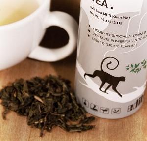 чай собранный обезьяной