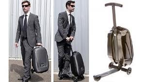 чемодан скутер