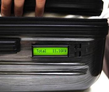 чемодан с весами