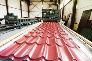 Бизнес-план по производству металлочерепицы - BizSovets