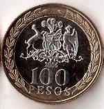 чилийское песо 100a