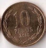 чилийское песо 10a