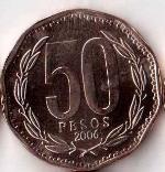 чилийское песо 50a