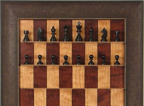 шахматная доска на стену