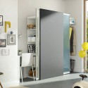 Необычный шкаф-разделитель для квартиры