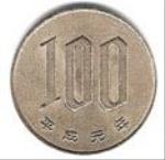 японская иена 100a