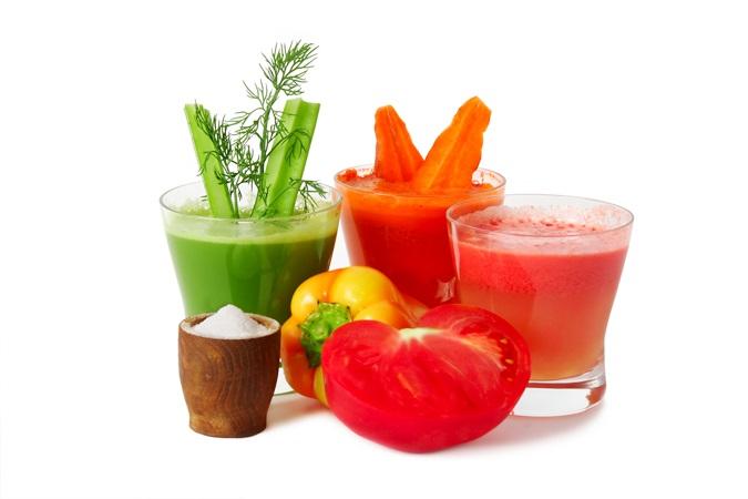 Фреш из овощей